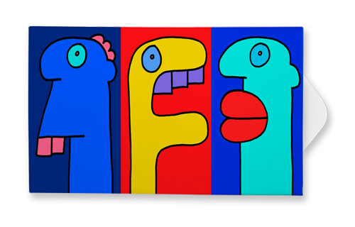 Faces - Thierry Noir